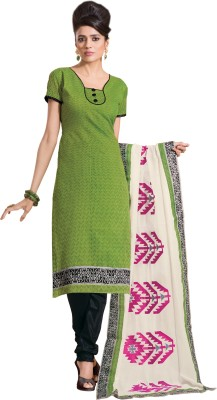 Jiya Chanderi, Silk Self Design Salwar Suit Dupatta Material