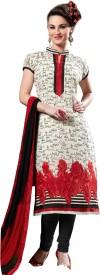 Fabliva Silk Printed Suit Fabric(Un-stitched)