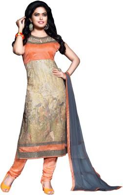 Styles Closet Net Embroidered Salwar Suit Dupatta Material