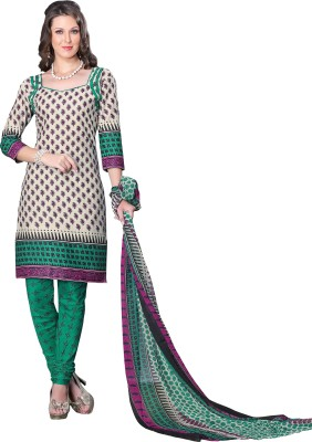 Minu Suits Cotton Printed Salwar Suit Dupatta Material