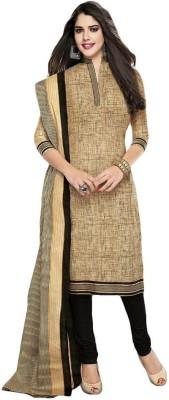 City Fashion Ganesh Cotton Self Design Salwar Suit Dupatta Material
