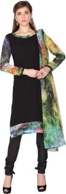 Designersareez Georgette Printed Salwar Suit Dupatta Material