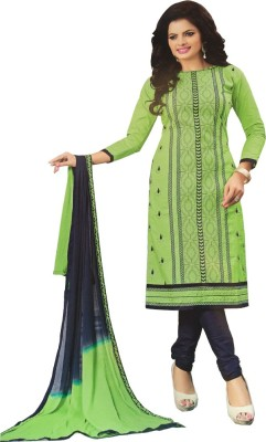Atha Cotton Cotton Embroidered Salwar Suit Dupatta Material