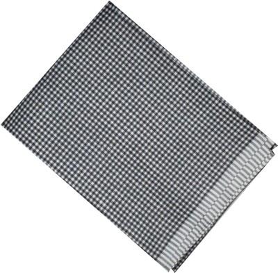 Vardhmancreation Cotton Polyester Blend Checkered Shirt Fabric