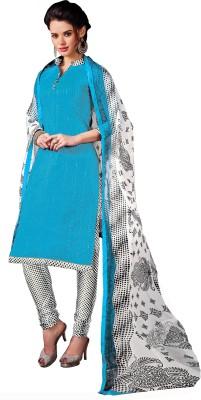 Jiya Chanderi Self Design, Embroidered, Embellished Salwar Suit Dupatta Material