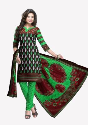 Tushiyyah Cotton Printed Salwar Suit Material