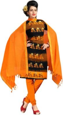 Antiq Handloom Jacquard Printed Kurta & Churidar Material