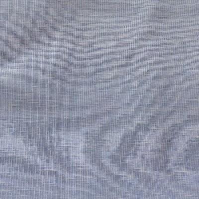 SILK WORLD Cotton Linen Blend Woven Shirt Fabric