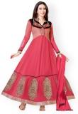 Styliner Georgette Self Design Salwar Su...