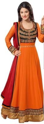 Dev Design Georgette Embroidered Salwar Suit Dupatta Material
