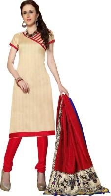We Desi Silk Printed Salwar Suit Dupatta Material