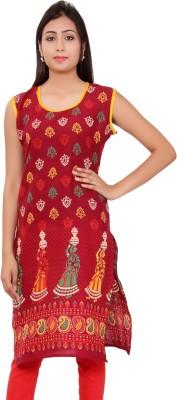 Kurti Studio Cotton Floral Print Dress/Top Material, Kurti Fabric, Kurti Fabric