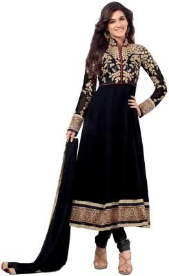 Cute N Classy Georgette Embroidered Semi-stitched Salwar Suit Dupatta Material