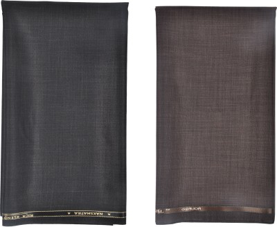 GWALIOR Cotton Polyester Blend Self Design Trouser Fabric