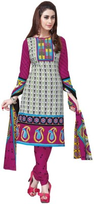 Avadh Fashion Cotton Printed Salwar Suit Dupatta Material