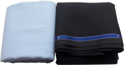 Raymond Home Cotton, Polyester, Linen Solid Shirt & Trouser Fabric