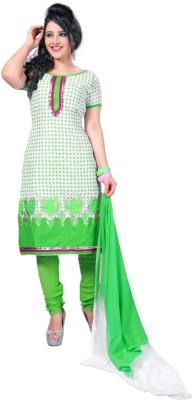 Cenizas Cotton, Chiffon Printed Salwar Suit Dupatta Material