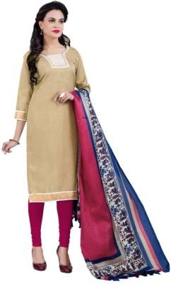 Jhumri Cotton Silk Blend Solid Salwar Suit Dupatta Material
