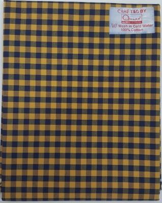 Qmax Cotton Checkered Shirt Fabric