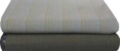 Ivo Gini Cotton, Wool Checkered Shirt & Trouser Fabric