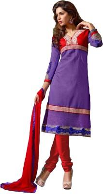 Diva Divine Chanderi Self Design Salwar Suit Dupatta Material