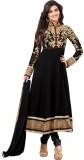 Whatshop Georgette Embroidered Salwar Su...