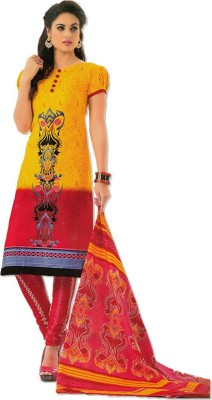 SangeetaFashion Cotton Printed Salwar Suit Dupatta Material