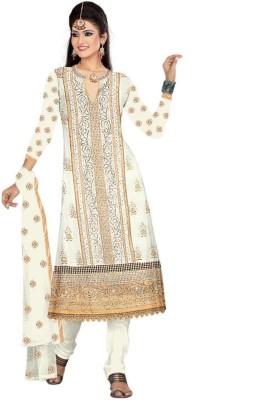 Ajanta Georgette Embroidered Salwar Suit Dupatta Material