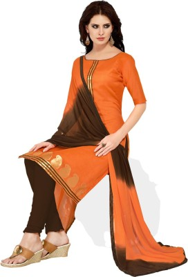 Shopeezo Cotton Printed Salwar Suit Dupatta Material