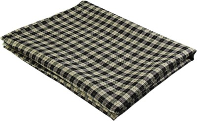 Boalamo Linen Checkered Multi-purpose Fabric