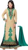 MF Georgette Embroidered Salwar Suit Dup...