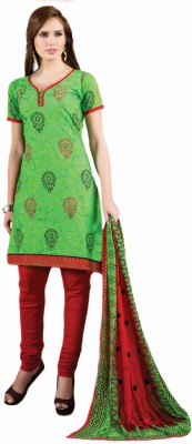 Anusha Cotton Embroidered Salwar Suit Dupatta Material