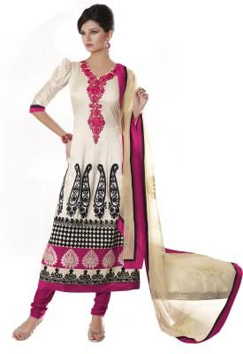 Parvati Fabrics Georgette Floral Print Dress/Top Material