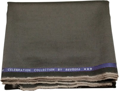 Raymond Home Polyester, Viscose Striped Trouser Fabric