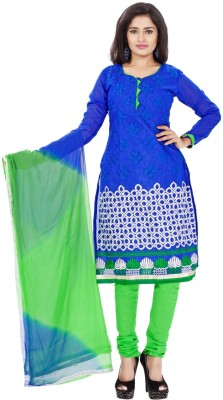Ambaji Cotton Solid Salwar Suit Dupatta Material