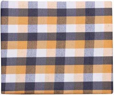 sahyog Synthetic Checkered Shirt Fabric