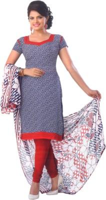 SGC Crepe Printed Salwar Suit Dupatta Material