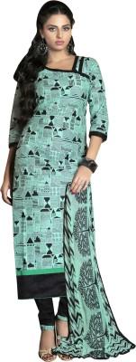 K D Collection Chanderi Printed Salwar Suit Dupatta Material
