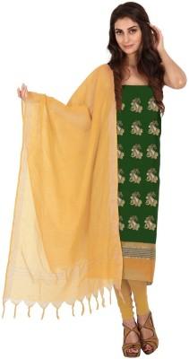 Platinaa Silk Floral Print Salwar Suit Dupatta Material