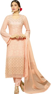 JKVstyle Chiffon Embroidered Dress/Top Material