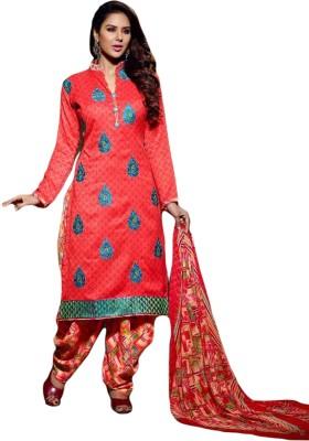 Belletouch Crepe Woven Salwar Suit Material