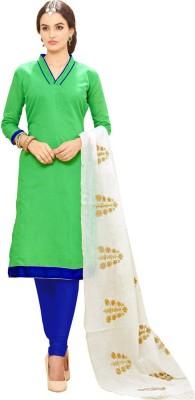 Krizel Trendz Chanderi Woven Salwar Suit Dupatta Material
