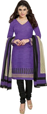 Ganga Fashion Cotton Printed Salwar Suit Dupatta Material