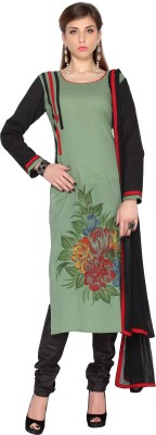 Designersareez Cotton Printed Salwar Suit Dupatta Material