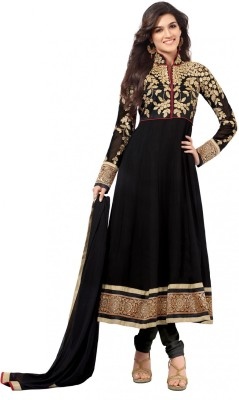SAMAYCREATIONSTORE Georgette Embroidered Salwar Suit Dupatta Material