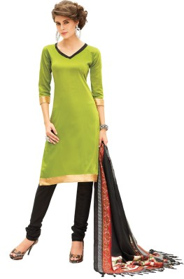 Inddus Silk Self Design Salwar Suit Dupatta Material