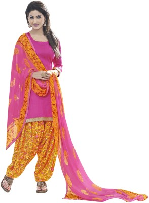 Blissta Cotton Printed Salwar Suit Dupatta Material