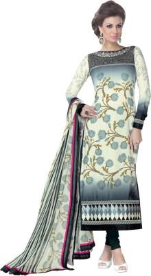 Dlines Synthetic Printed Salwar Suit Dupatta Material