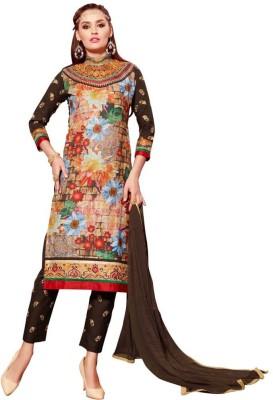 Mastani Cotton Printed Semi-stitched Salwar Suit Material