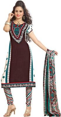 Variation Crepe Floral Print Dress/Top Material